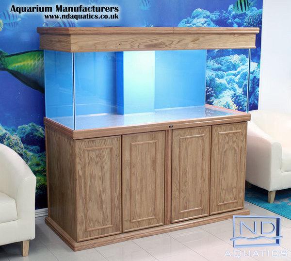 Aquarium manufacturers in uk bespoke marine tropical for Fish tank cabinets