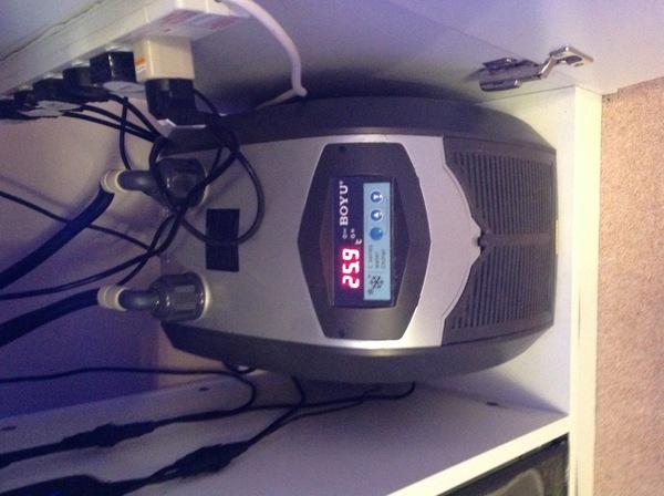 Marine aquarium fish tank chiller cooler boyu l 075 for Fish tank water cooler