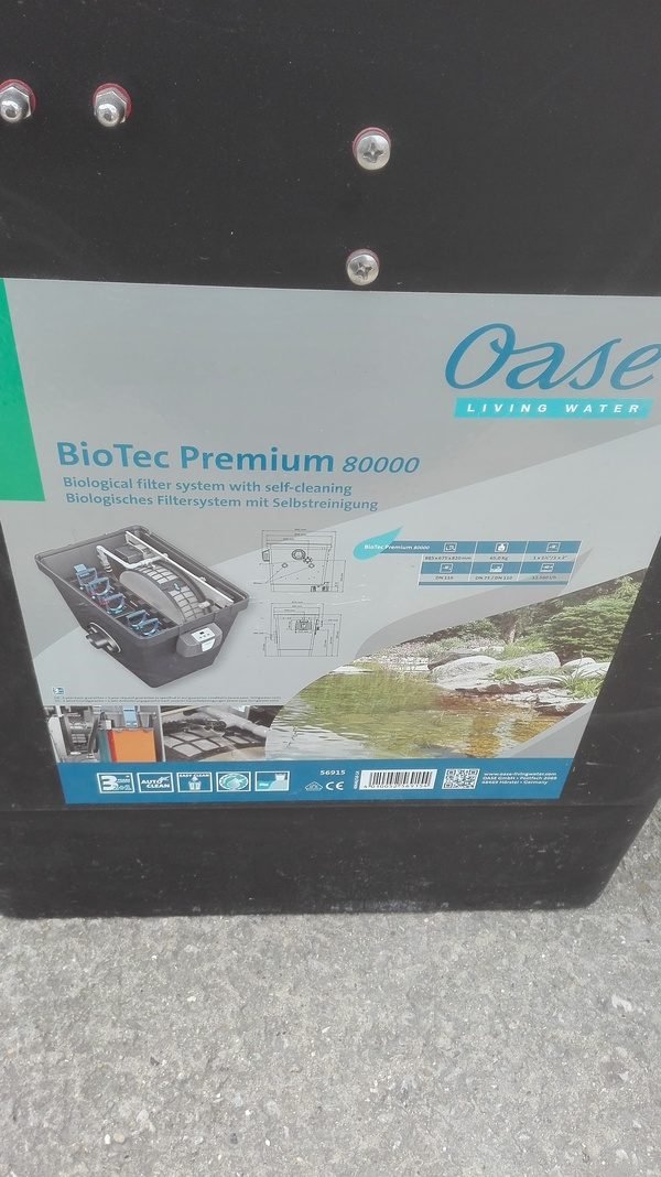 Brand New Oase BioTec Premium 80000 Was £1899 Now £1100 Only one