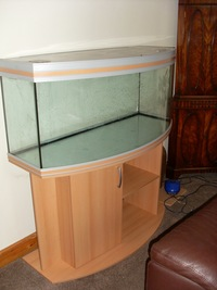 rena aqualife 250 panoramic 340 litre bowfront fish tank. Black Bedroom Furniture Sets. Home Design Ideas
