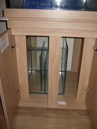 CLEAR SEAL 2FTX2FT CUBE TANK WITH SUMP(LINCOLNSHIRE)