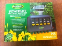 BLAGDON POWERSAFE PS5 FIVE WAY SWITCH BOX