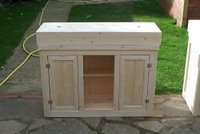 Hand Made Pine aquarium cabinets and lid made to order
