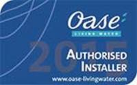 Oase Authorised Installer 2015/2016/2017/2018