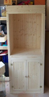 Hand Made Pine aquarium cabinets ( made to order)