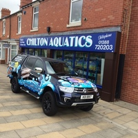 CHILTON AQUATICS. WE ARE THE AQUATIC SPECIALISTS. LARGEST RANGE OF FISH AND AQUATIC GOODS IN THE NORTH OF ENGLAND. BEST QUALITY AND BEST PRICES
