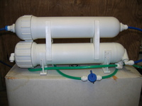 DOUBLE REVERSE OSMOSIS UNIT