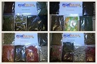 Fishmania Complete fish food sample packs, Tropical fish, Cichlids