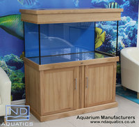 Aquarium Manufacturers in UK . Bespoke Marine & Tropical Fish Tanks. Metal Framed Cabinets.