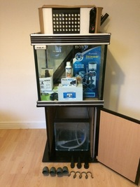 Aqua One 2ft - 60cm Cube Marine Fish Tank,Sump Tank & Equipment Delivery Avail