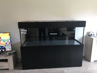 Almost new ND Aquatics fish tank 6ft
