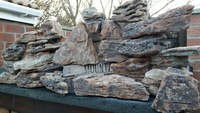 Aquarium Malawi Red iron rock. �