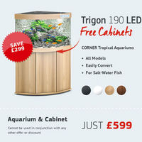 THE ENTIRE JUWEL AQUARIUM RANGE IS ON OFFER AT CHILTON AQUATICS WITH FREE CABINET DEALS ON ALL MODELS.