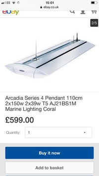 Arcadia series 4 light