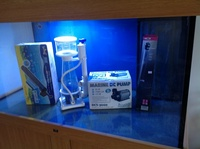 Now sold .ND Aquatics 4 feet tank with sump,pelmet and cabinet