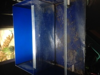 Ex shop display aquarium with divider. � Ono