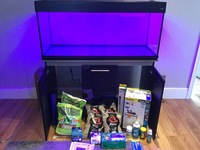 Aquaone vogue 245 litres fish tank for sale brand new. Unused, �0.