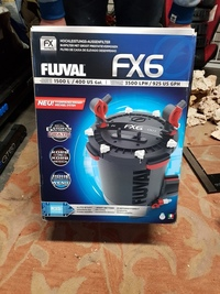 Brand new in the box fluval fx6 filter