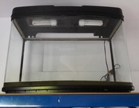 MUST GO ASAP---80 Litres(18 Gallons) Bow Fronted 63cm Aquarium with Hood--Leeds--ono � or make me an offer(must go anyway)