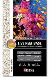 Red Sea Ocean White Marine substrate 20kg