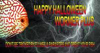 HAPPY HALLOWEEN FROM WORMER PLUS.