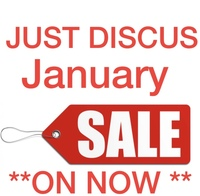 JUST DISCUS massive January SALE, Ends tonight