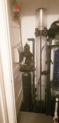 Aqua medic twin 5000 litre protein skimmer for sale
