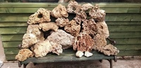 Tuffa rock and dead coral to fill 5ft