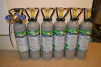 Brand new sealed up still JBL CO2 gas 2kg cylinders
