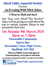 SVAS ~ An Evening With Mick Jukes ~ 4 went to Hull and Back