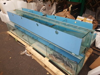 4x 96 inches x10 inches x12 inches aquariums for sale.
