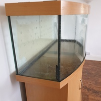 Juwel Vision 450 Aquarium in Beech, Stand, Air Pump & Accessories Reduced for quick sale �5
