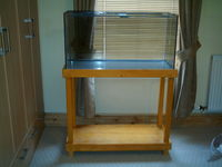 3ft FISH TANK AND PINE STAND - MARINE, TROPICAL or REPTILE