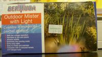 BERMUDA -- OUTDOOR MISTER with LIGHT 4 PONDS!!!